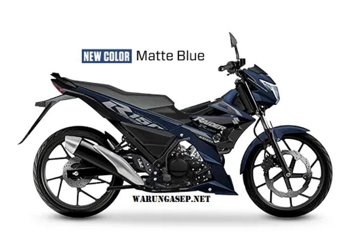 Raider R150 FI 2020 Matte Blue