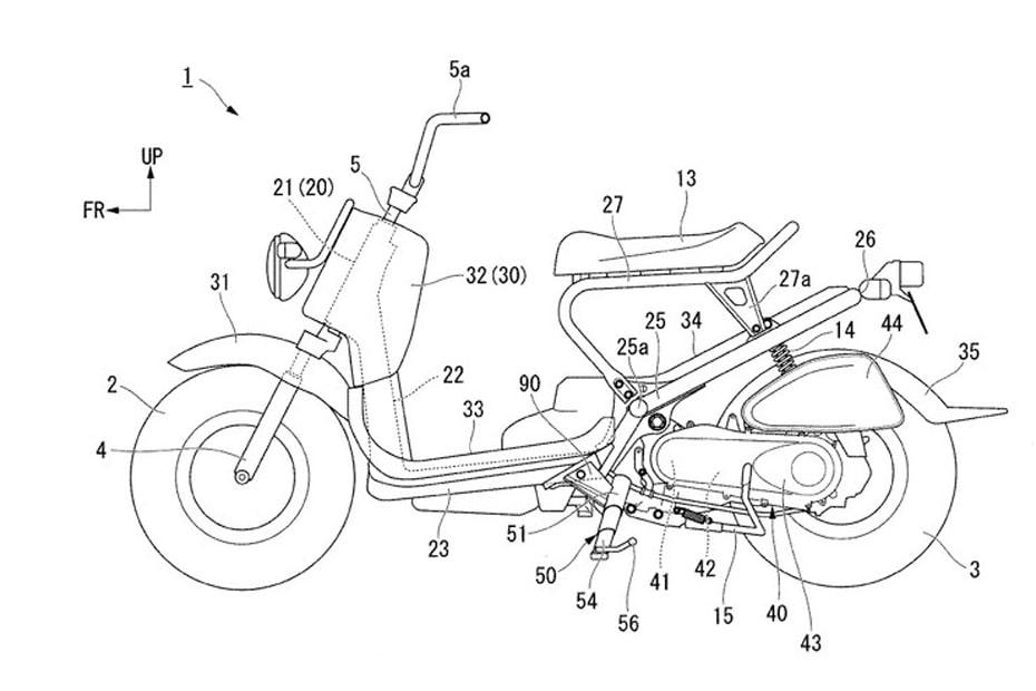 เผยข้อมูล Honda จดสิทธิบัตรการออกแบบขาตั้งข้างใหม่