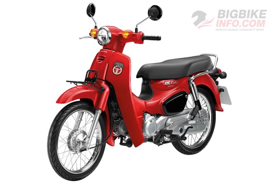 ฮอนด้า ซุปเปอร์ คัพ 110 2020 สีแดง