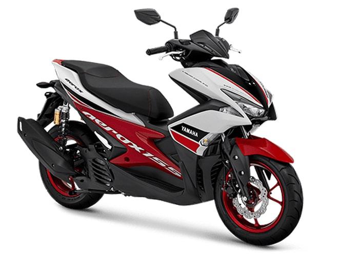 Aerox R 2020 สีใหม่แดง-ขาว