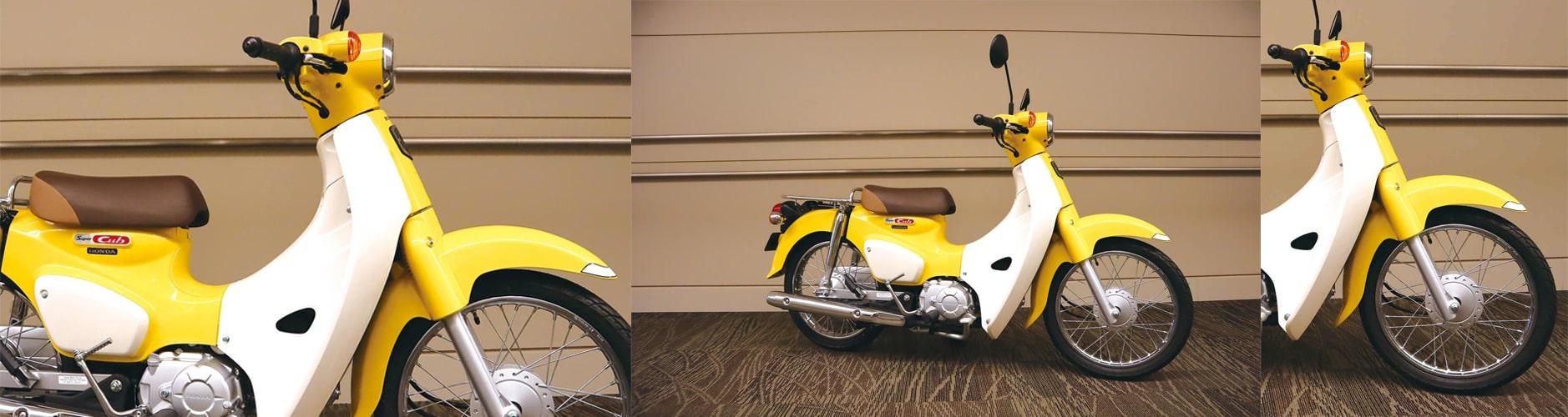 Super Cub 110 2020 สีเหลืองใหม่
