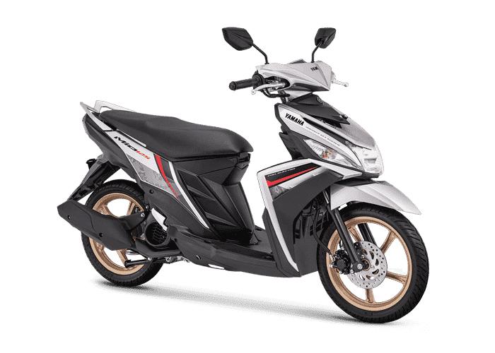 Yamaha Mio M3 Metallic White
