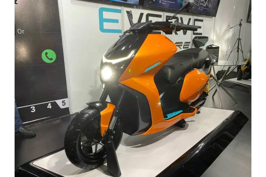 สกูตเตอร์ไฟฟ้า Everve เปิดตัวที่อินเดียในงาน Auto Expo 2020