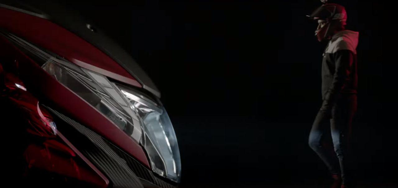 Honda Dio 2020 ด้านหน้า