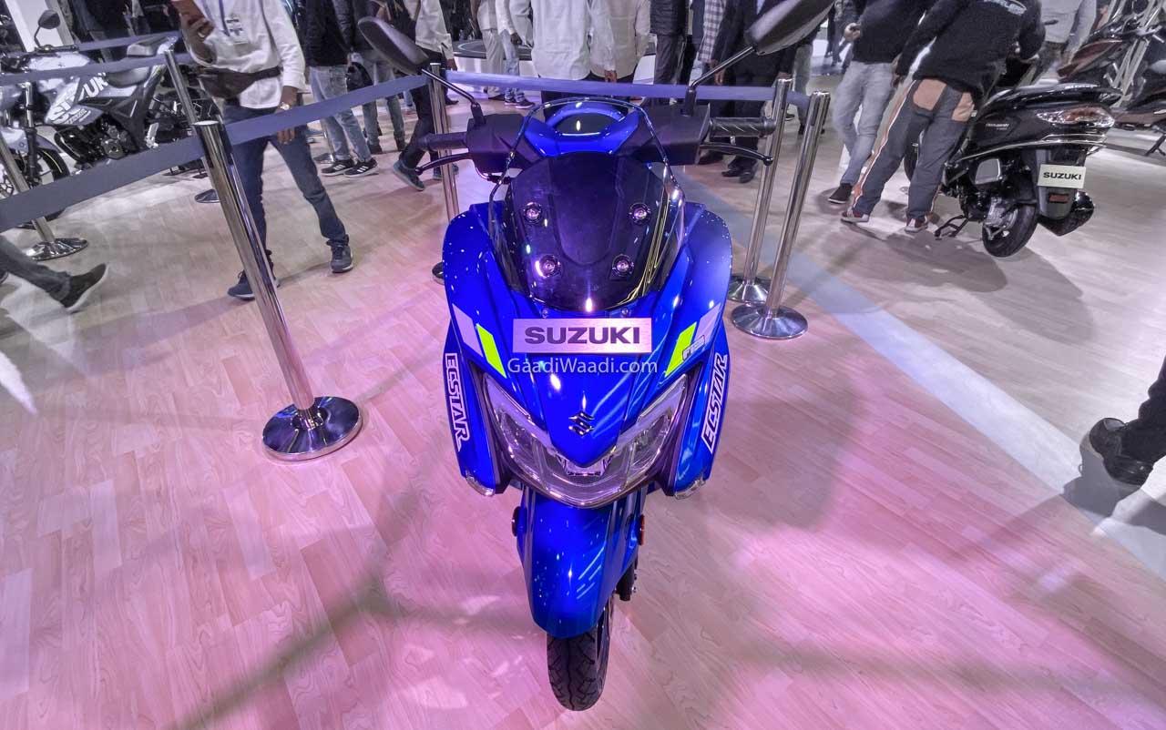 Burgman Street 2020 MotoGP ด้านหน้า