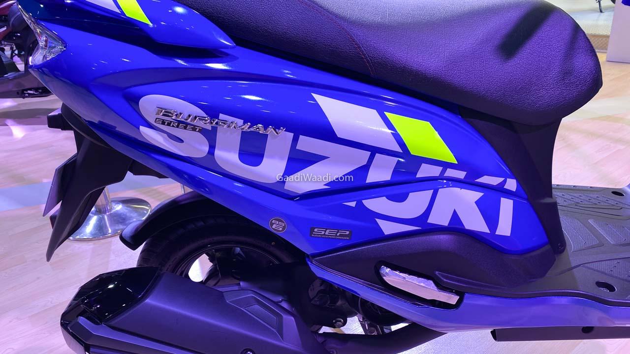 Burgman Street 2020 MotoGP ลวดลายกราฟิก