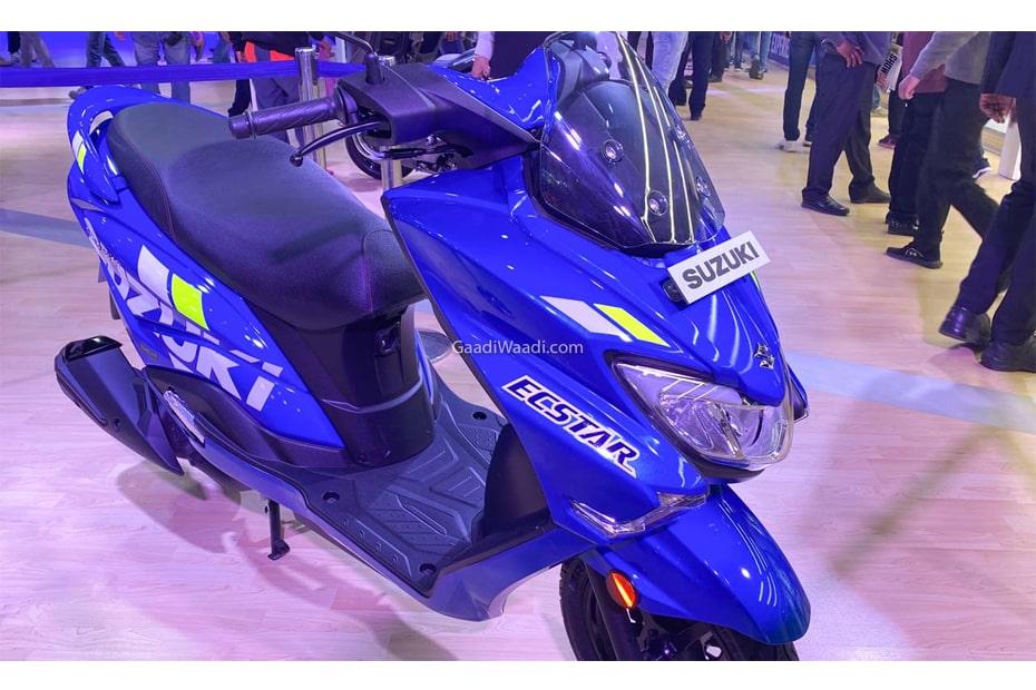 เผยโฉม Suzuki Burgman Street 2020 MotoGP Edition ในงาน Auto Expo 2020