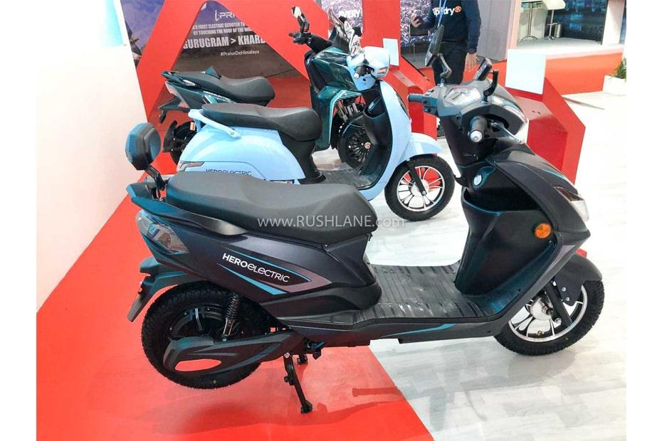 เปิดตัวสกูตเตอร์ไฟฟ้า Hero AE 29 2020 ที่งาน Auto Expo 2020 ประเทศอินเดีย