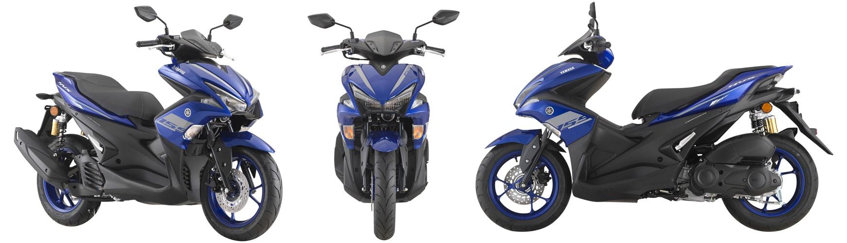 NVX 2020 สีน้ำเงิน