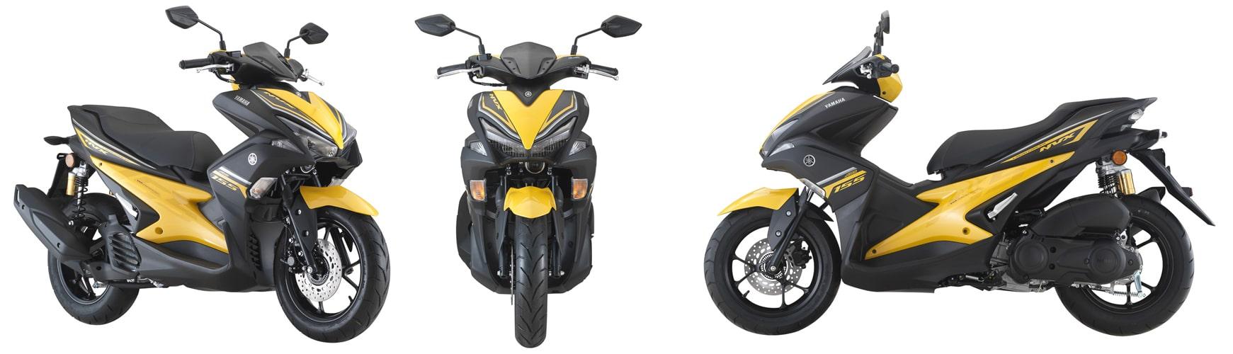 NVX 2020 สีเหลือง