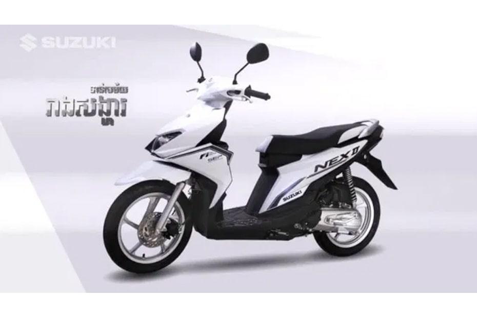 สองสีใหม่ Suzuki Nex II 2020 เปิดตัวในประเทศกัมพูชา