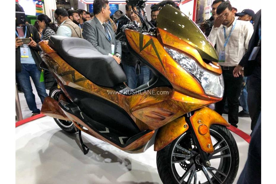 สกูตเตอร์ไฟฟ้า Okinawa Cruiser 2020 เปิดตัวที่อินเดียในงาน Auto Expo 2020