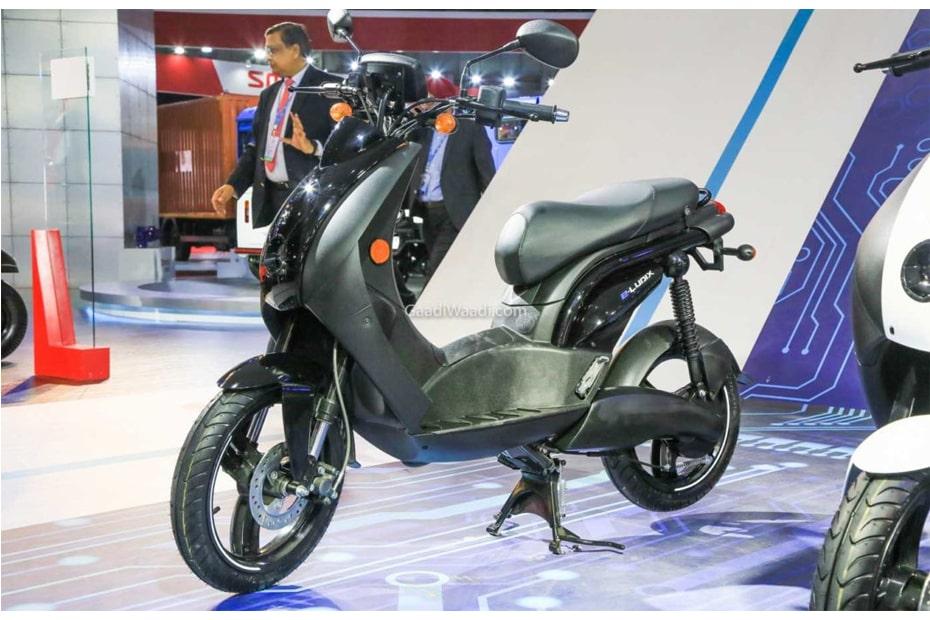 สกูตเตอร์ไฟฟ้า Mahindra e-Ludix เปิดตัวในงาน Auto Expo 2020