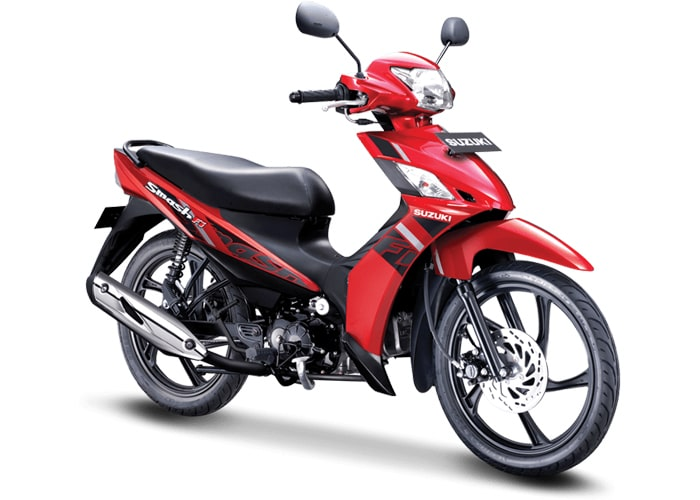 Suzuki Smash FI 2020 สีแดง