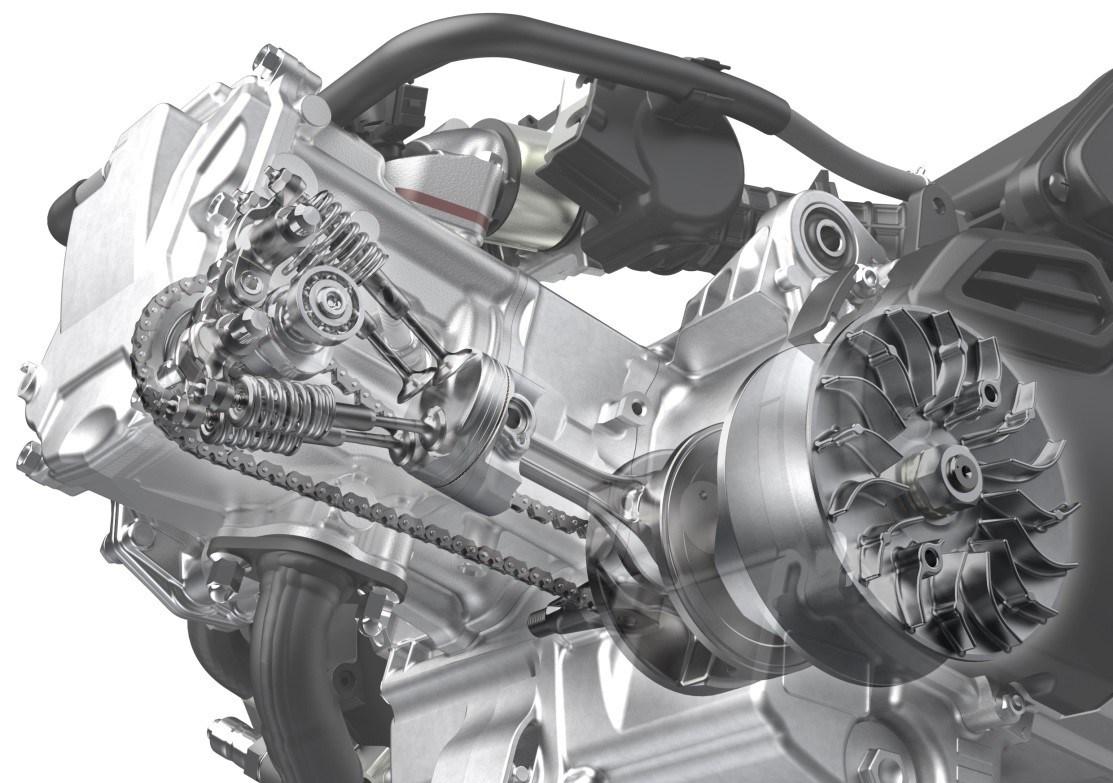 Honda K2FA มอเตอร์