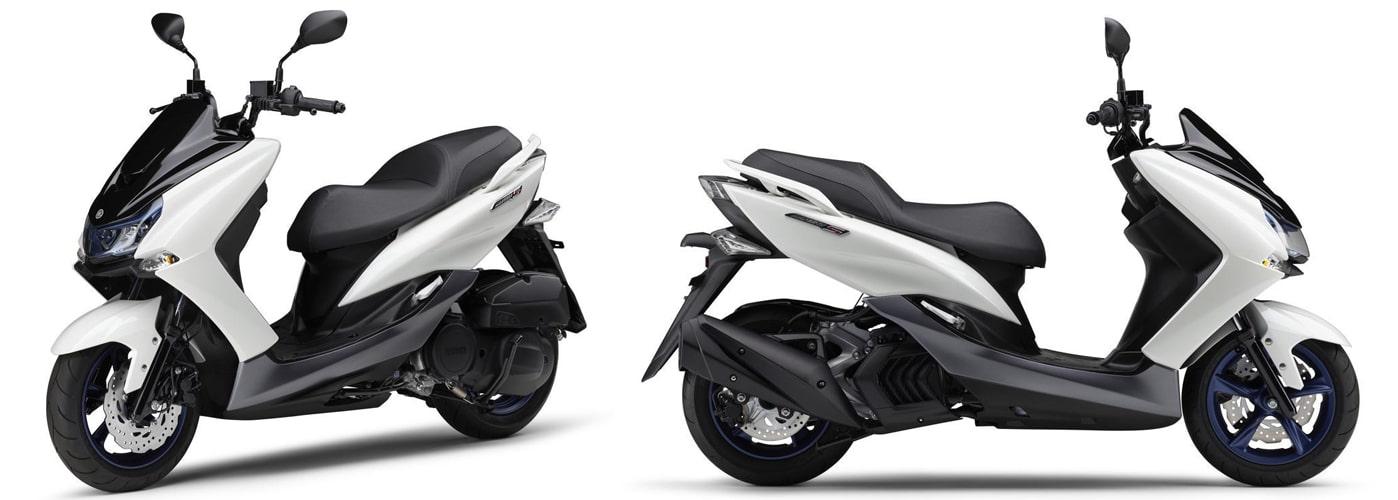 ยามาฮ่า Majesty S 2020 สีขาว