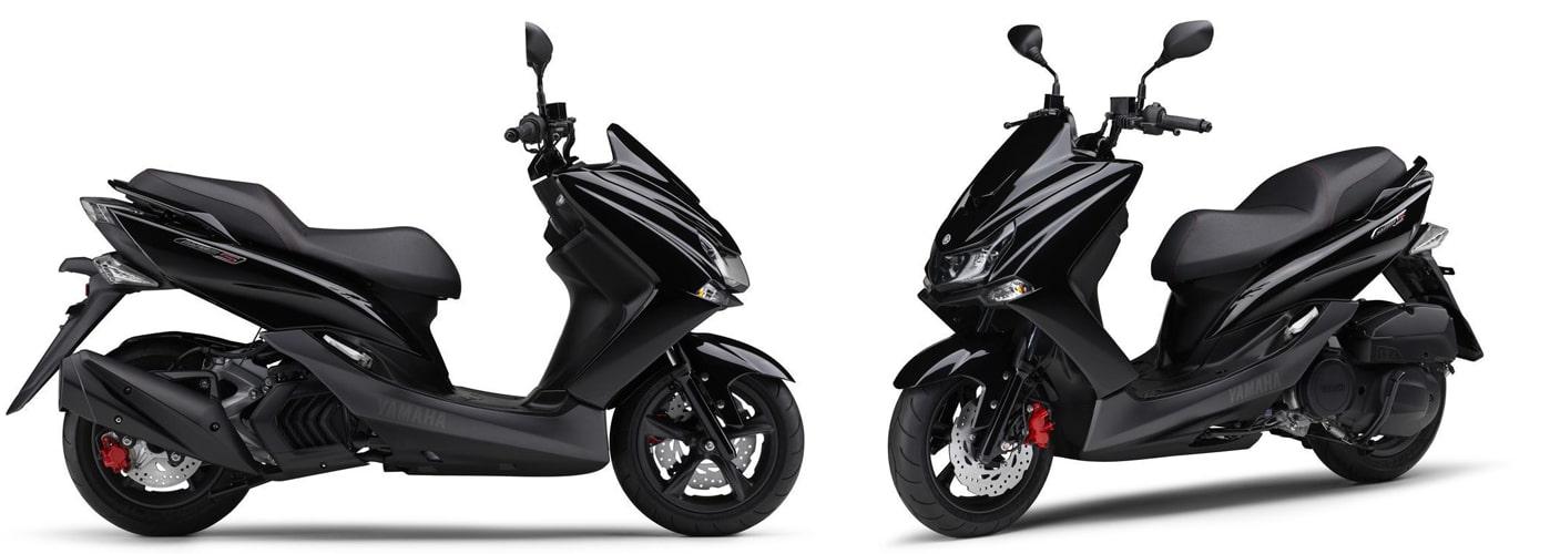 ยามาฮ่า Majesty S 2020 สีดำ