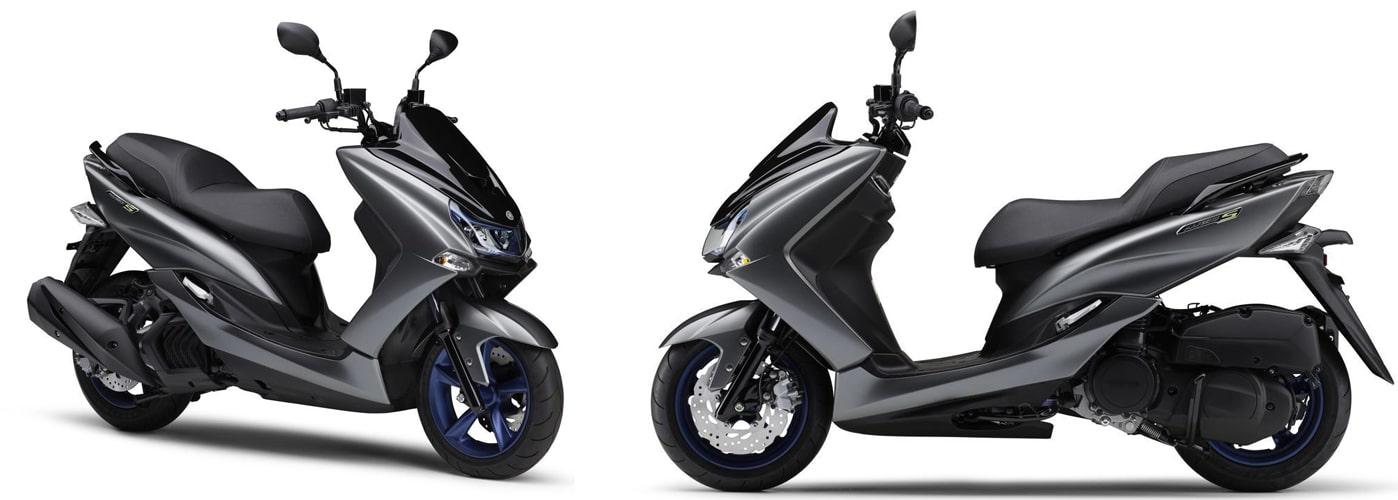ยามาฮ่า Majesty S 2020 สีเทา