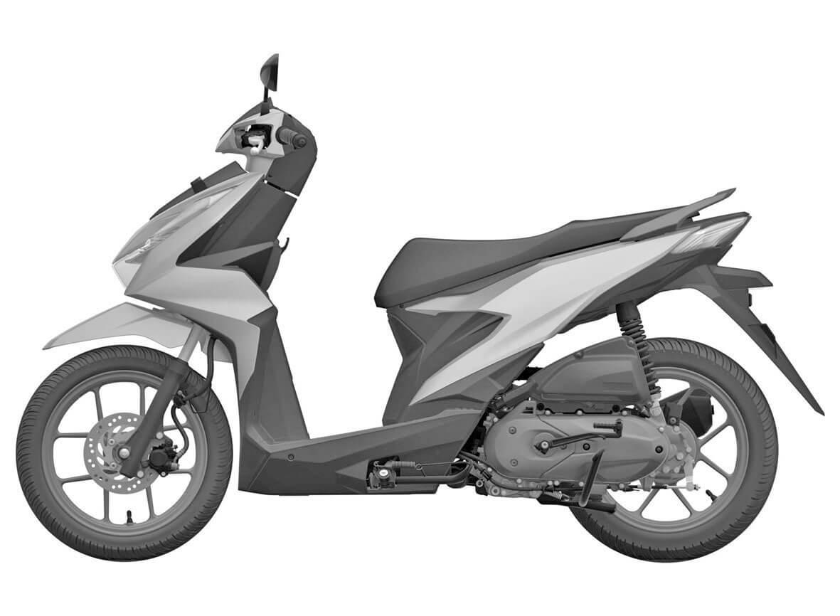 สิทธิบัตรยุโรป Honda Beat