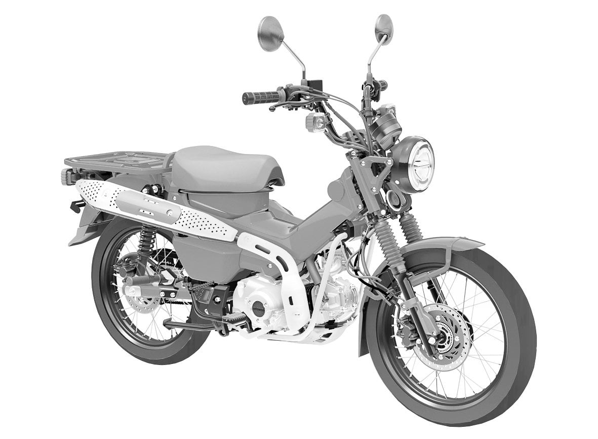 สิทธิบัตร Honda CT125 2021