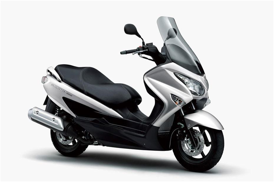 สีใหม่ Suzuki Bergman 200 2020 เปิดตัวในราคา 533,500 เยน