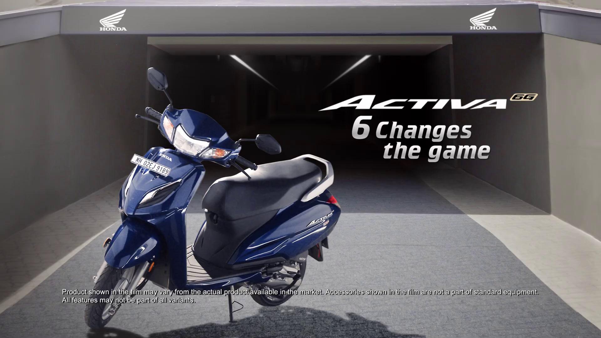Bs Vi Honda Activa 6g