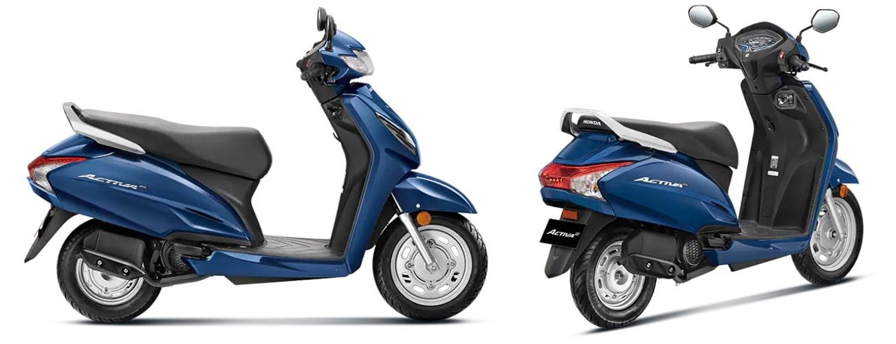 Honda Activa 6G 2020 ในอินเดีย