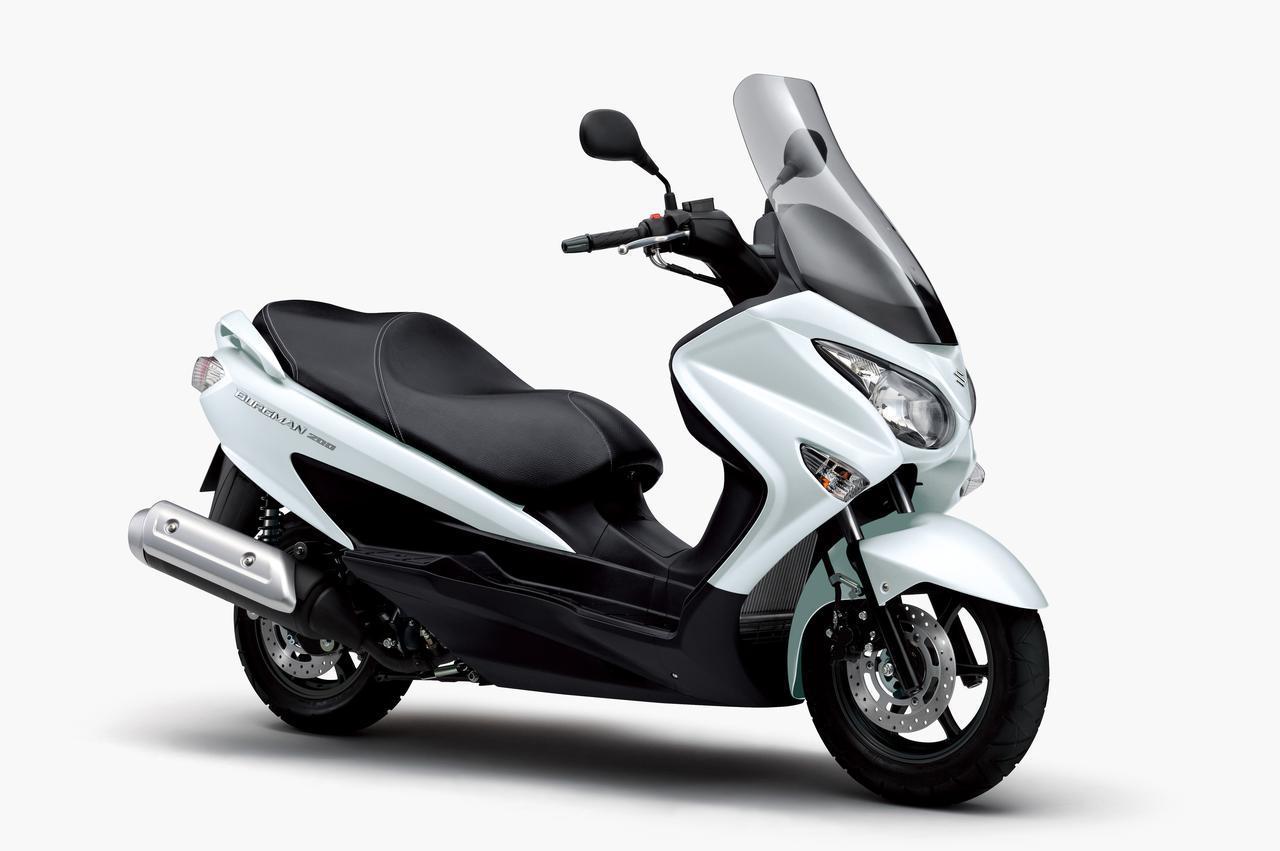 Suzuki Bergman 200 2020 สีขาว