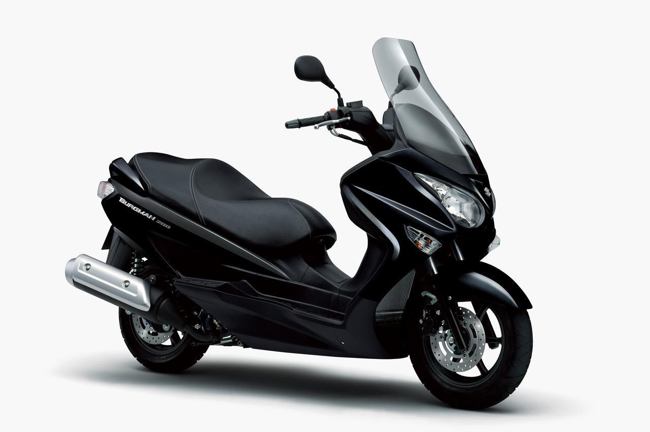 Suzuki Bergman 200 2020 สีดำ