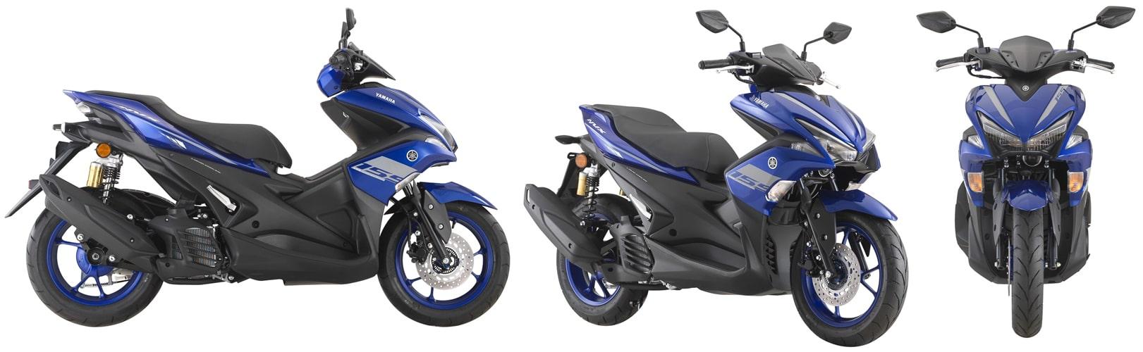 ยามาฮ่า Aerox 2020 สีน้ำเงิน