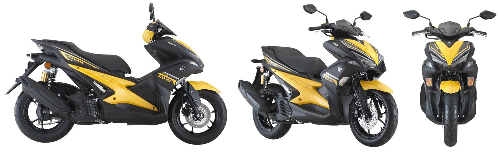 ยามาฮ่า Aerox 2020 สีเหลือง