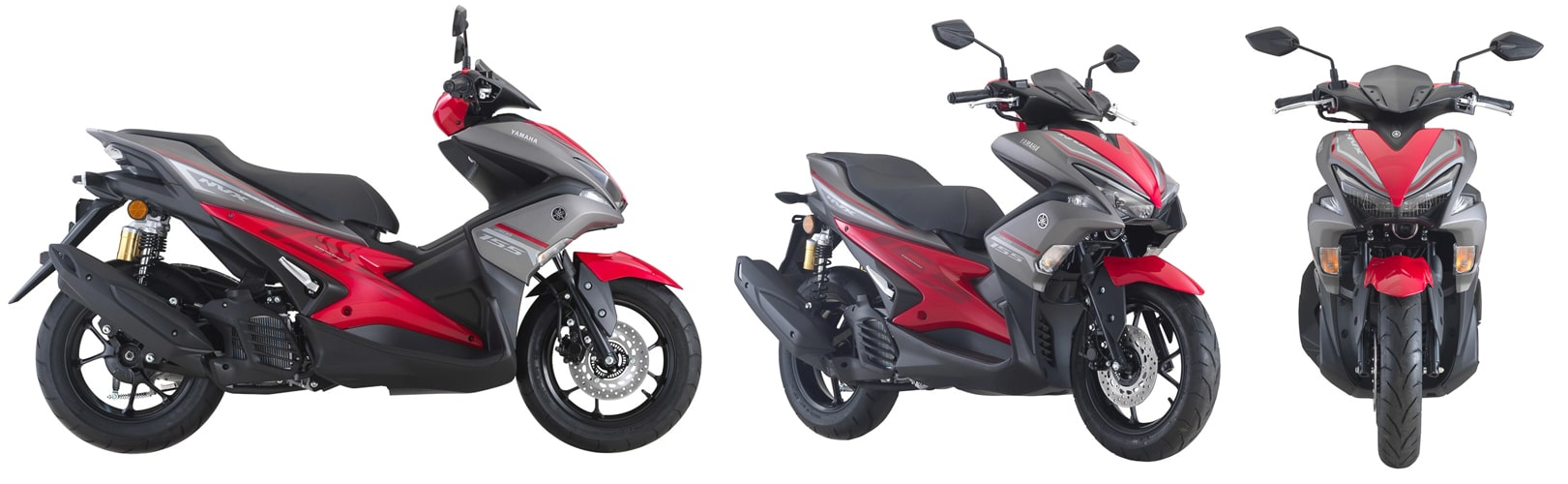 Yamaha Aerox 2020 สีแดง