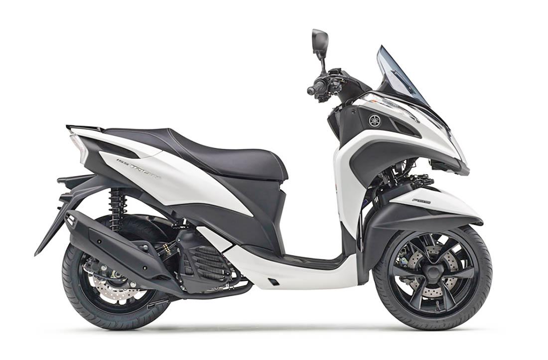 ยามาฮ่า Tricity 155 2020 สีขาว
