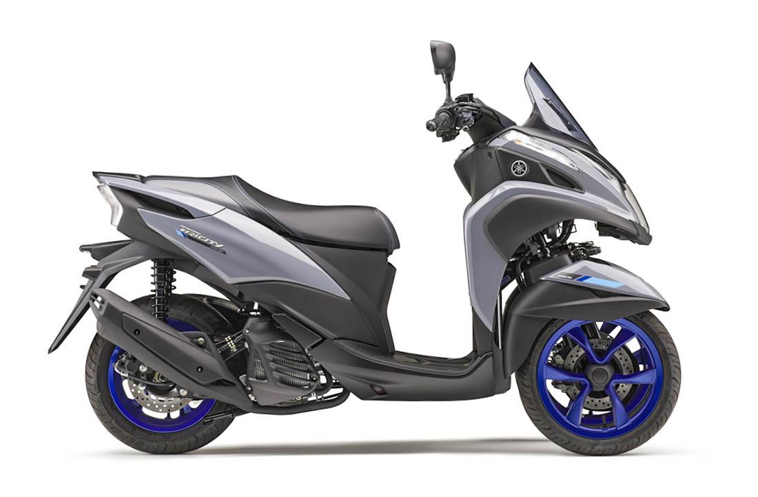 ยามาฮ่า Tricity 155 2020 สีเทา-ล้อน้ำเงิน