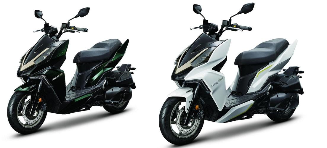 DRG BT 2020 สีเขียวและสีขาว