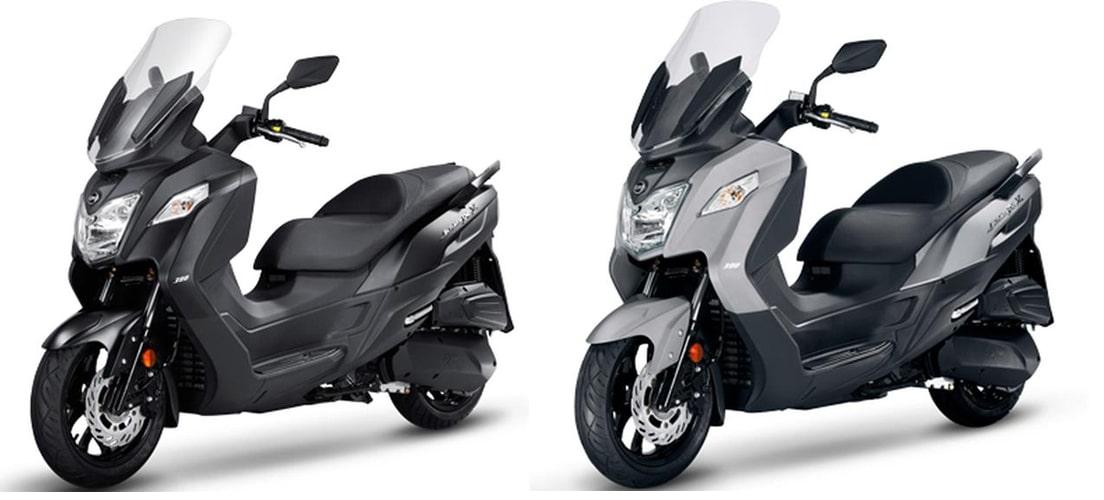 JOYMAX Z 250 2020 สีดำและสีเทา