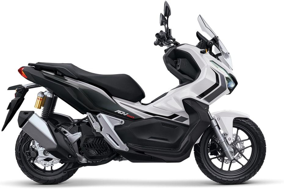 New ADV150 สีขาวใหม่