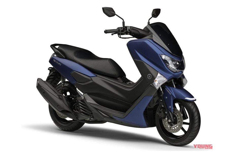 เปิดตัว Yamaha Nmax ABS 2020 สีน้ำเงินแมทใหม่ในญี่ปุ่นราคา 357,500 เยน