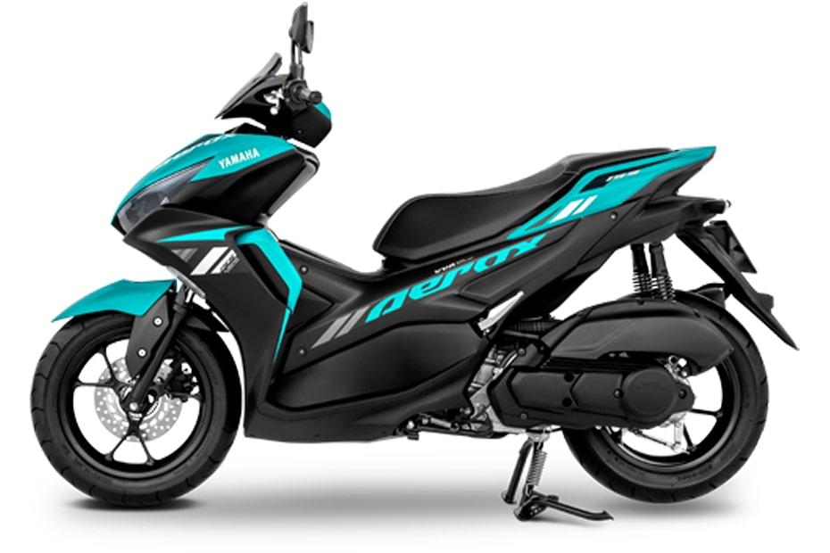 ยามาฮ่า แอร็อกซ์ 155 ปี 2021 รุ่น Standard สีเขียว-ดำ