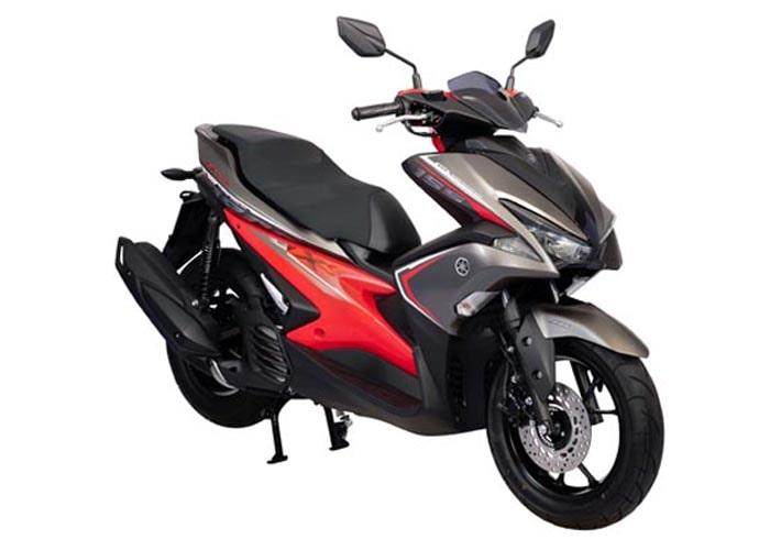 ยามาฮ่า Aerox 155 2020 สีเทา-แดง
