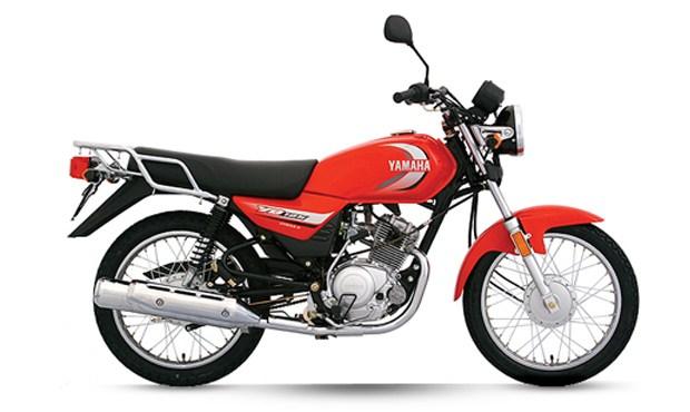 ยามาฮ่า YB125 2020 สีแดง