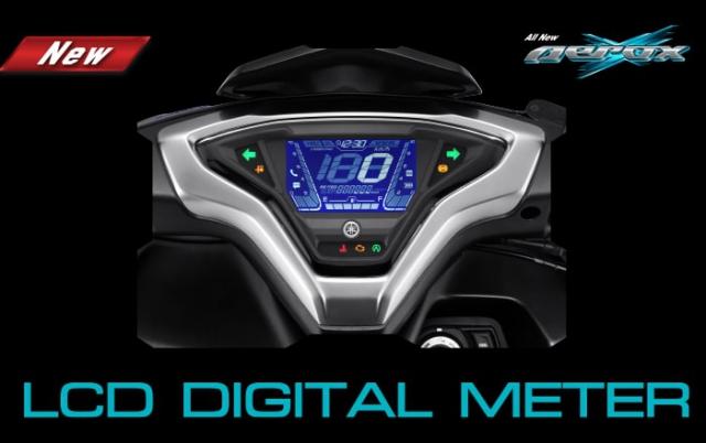 All New Yamaha Aerox 155 2021 หน้าปัด