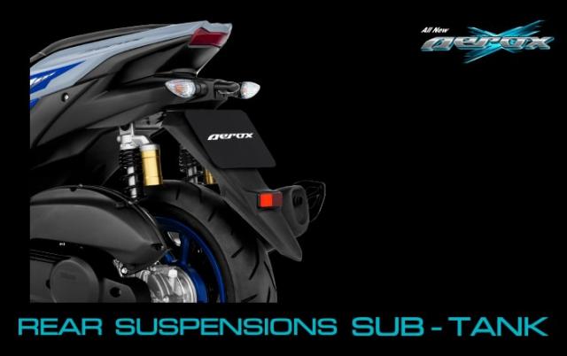 All New Yamaha Aerox 155 2021 ไฟท้าย