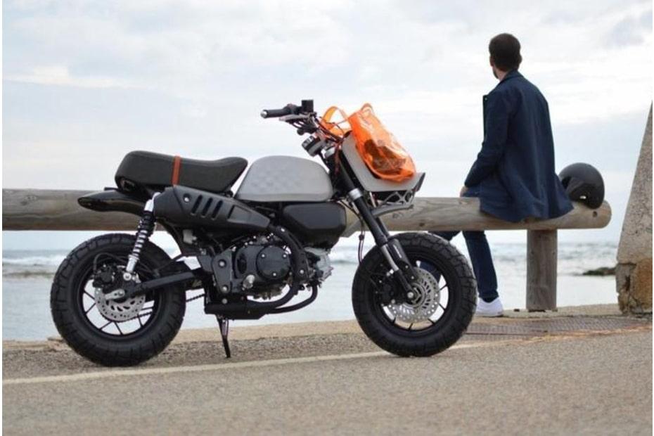 เผยการออกแบบ Honda Monkey 125 เวอร์ชั่นใหม่ โดย VIBA และ SLM Solutions
