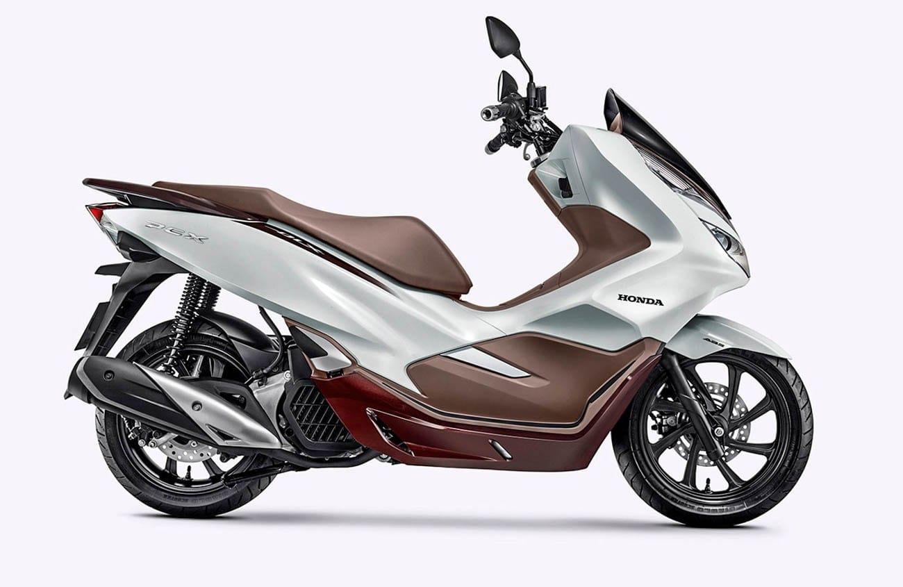 ฮอนด้า PCX 150 เวอร์ชั่น 2020 สีน้ำตาล-ขาว