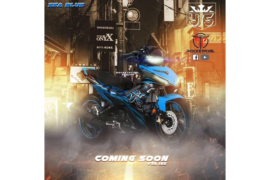 เผยภาพการออกแบบ Yamaha MX-King VVA 155 โดย Myrocketpixel ที่มาเลเซีย
