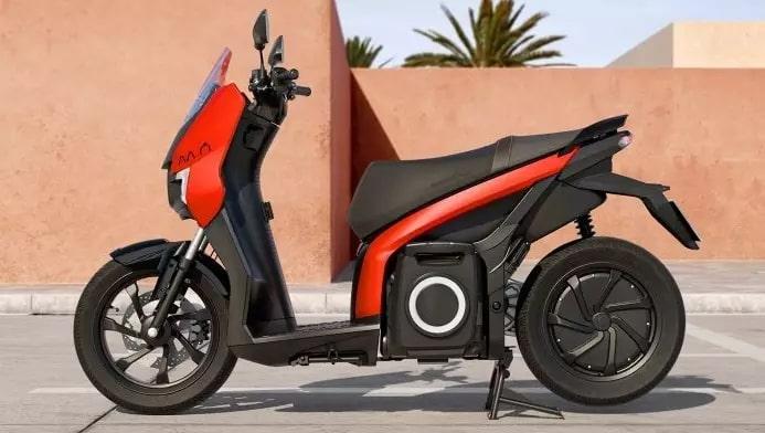 eScooter 125 ด้านข้าง