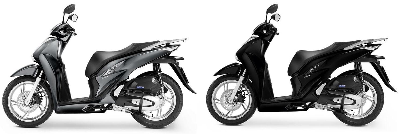 ฮอนด้า SH150i 2020 สีเทาและสีดำ