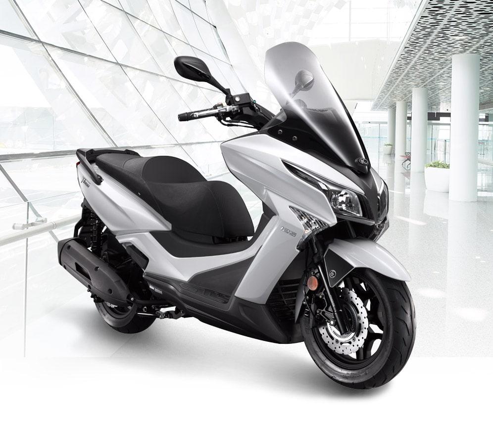 xtown 250 2020 สีขาว