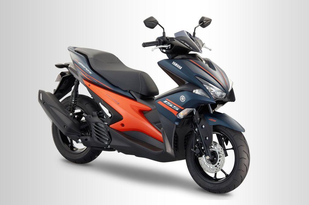 ยามาฮ่า Mio Aerox 155 2020 สีน้ำเงิน-ส้ม